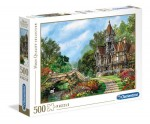 Clementoni Puzzle 500el Old Waterway Cottage 35048
