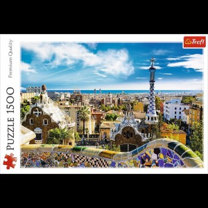 Puzzle 1500 Trefl 26147 Barcelona - Park Guell
