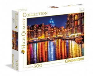 Puzzle 500 el. Collection Amsterdam Clementoni 35037